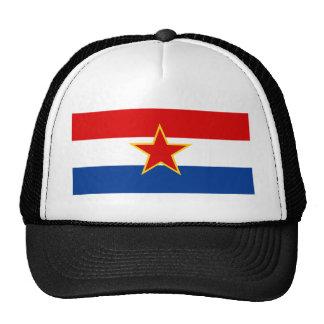 Croatian flag, hrvatska zastava trucker hat