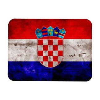 Croatian Flag Rectangular Photo Magnet