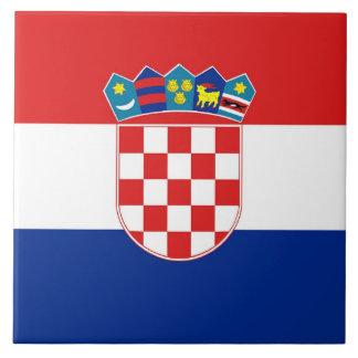 Croatian Flag Tile