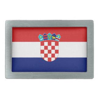Croatian flag - Trobojnica Belt Buckle