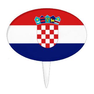 Croatian flag - Trobojnica Cake Topper