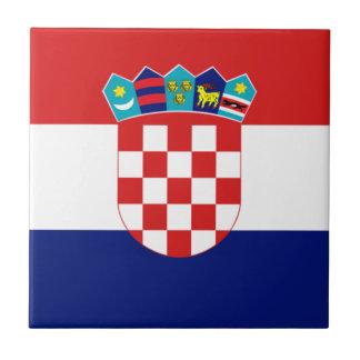 Croatian flag - Trobojnica Ceramic Tile
