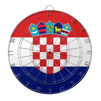 Croatian flag - Trobojnica Dartboard