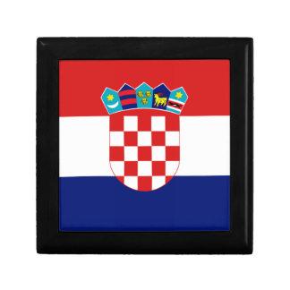 Croatian flag - Trobojnica Jewelry Box