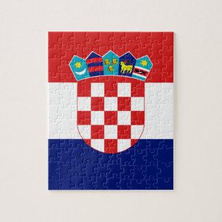 Croatian flag - Trobojnica Jigsaw Puzzle