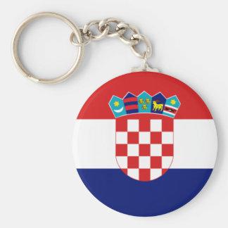 Croatian flag - Trobojnica Keychain