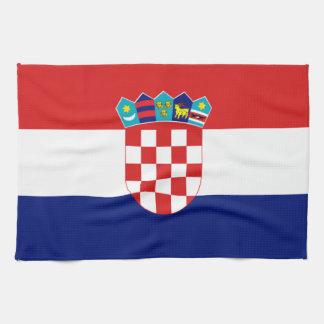 Croatian flag - Trobojnica Kitchen Towel