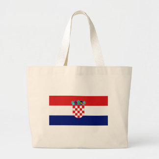 Croatian flag - Trobojnica Large Tote Bag