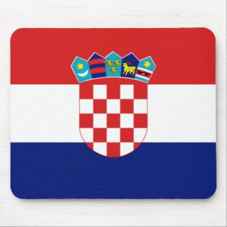 Croatian flag - Trobojnica Mouse Pad