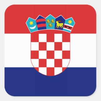 Croatian flag - Trobojnica Square Sticker