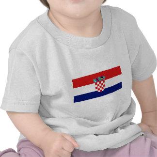 Croatian flag - Trobojnica T-shirt
