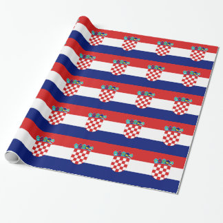Croatian flag - Trobojnica Wrapping Paper