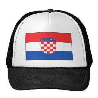 Croatian Flag Trucker Hat