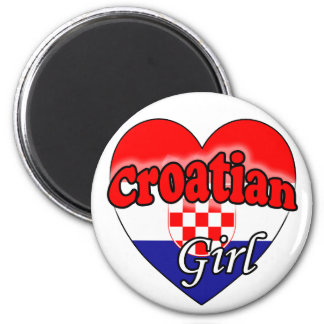 Croatian Girl Magnet