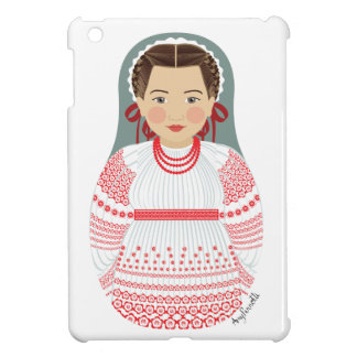 Croatian Girl Matryoshka iPad Mini Case