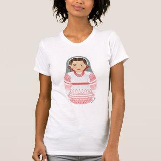 Croatian Girl Matryoshka Women's T-Shirt