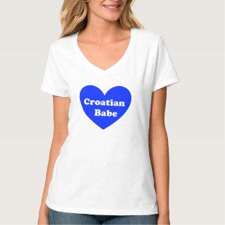 Croatian Girl T-Shirt