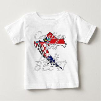 Croatian Girls Do It Best! Baby T-Shirt