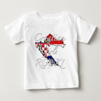 Croatian Girls Rock! Baby T-Shirt