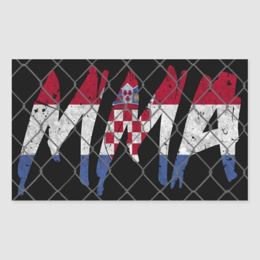 Croatian MMA Sticker