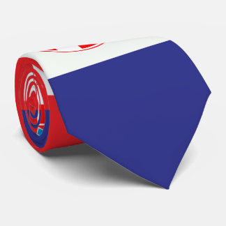 Croatian national Flag Patriotic Gifts Neck Tie