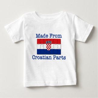 Croatian Parts Baby T-Shirt