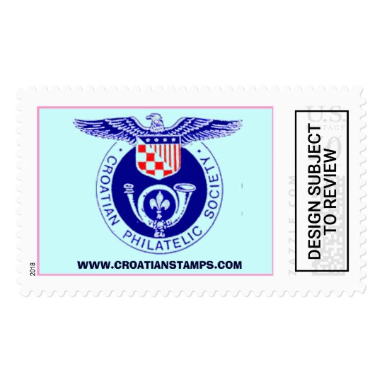 Croatian Philatelic Society, WWW CR    Postage