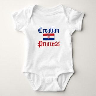 Croatian Princess 1 Baby Bodysuit