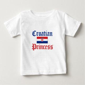 Croatian Princess 1 Baby T-Shirt