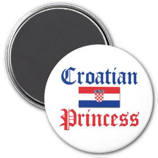 Croatian Princess 1 Fridge Magnet