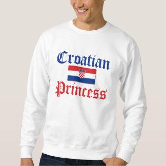 Croatian Princess 1 Sweatshirt