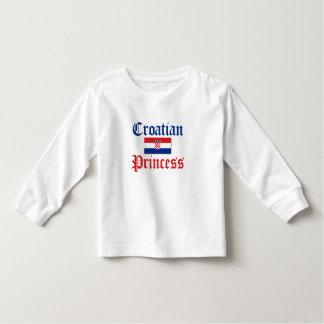 Croatian Princess 1 Toddler T-shirt