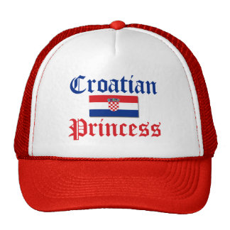 Croatian Princess 1 Trucker Hat