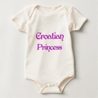 Croatian Princess Baby Bodysuit