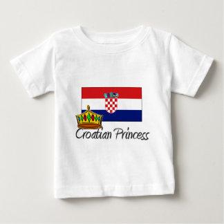 Croatian Princess Baby T-Shirt