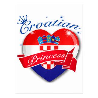 Croatian Princess Postcard