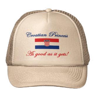 Croatian Princess Trucker Hat