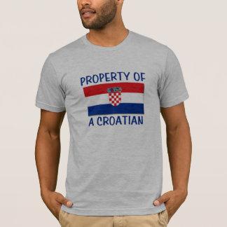 Croatian Property T-Shirt