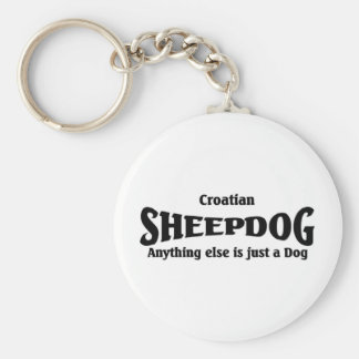 Croatian Sheepdog Keychain