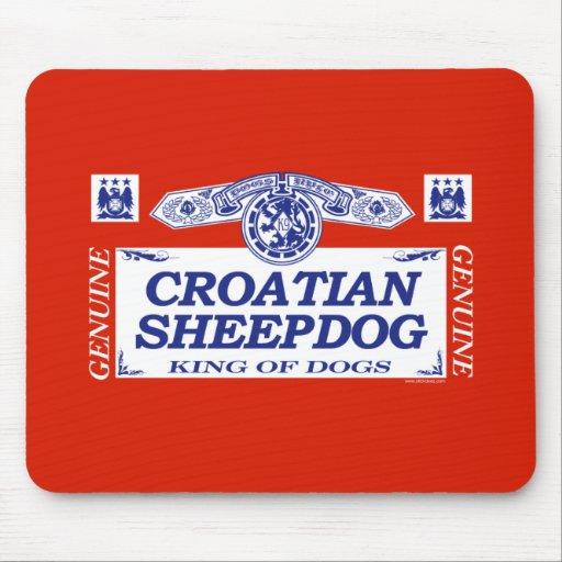 Croatian Sheepdog Mouse Mats