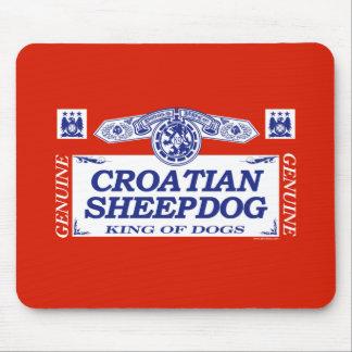 Croatian Sheepdog Mouse Pad