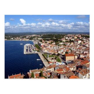 Croatian Skyline Postcard