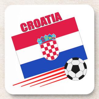 Croatian Soccer Team Drink Coasters