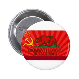 CROC Flag Pinback Button
