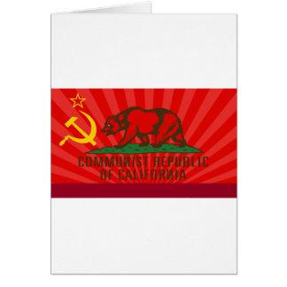 CROC Flag Greeting Card