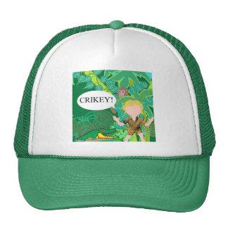 Croc Hunter Cap Trucker Hat