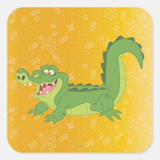 Croc Square Stickers