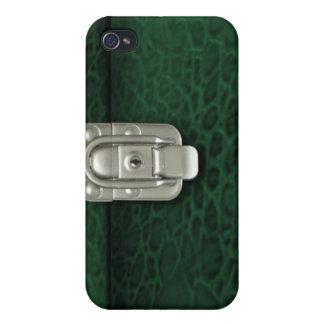 Crocdile finish clasped case design, hunter iPhone 4/4S covers