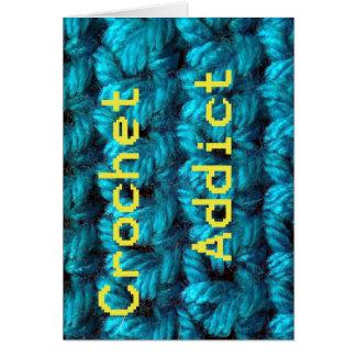 Crochet Addict Part2 Double Crochet Card