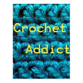 Crochet Addict Part2 Double Crochet Postcard
